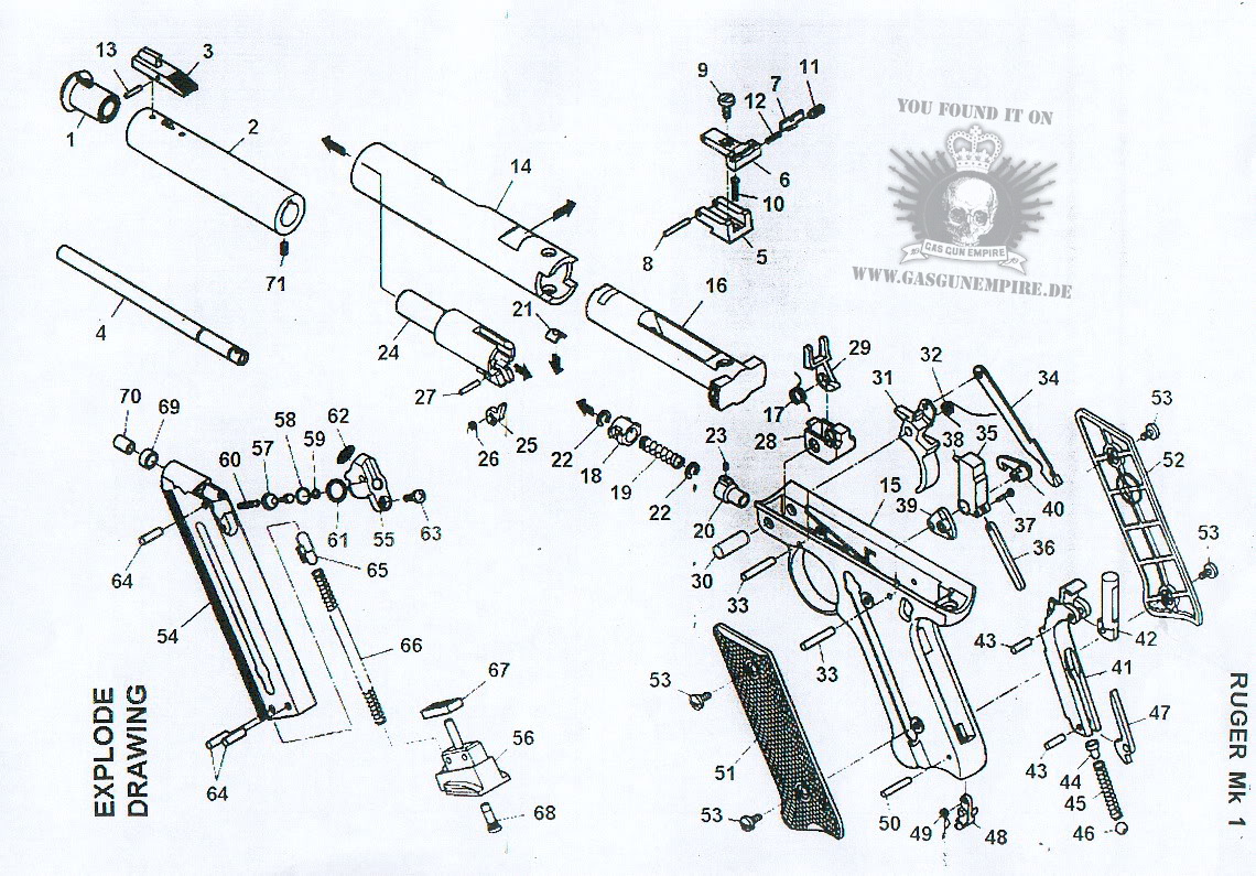 Ruger Mark Ii Exploded Diagram on showthread