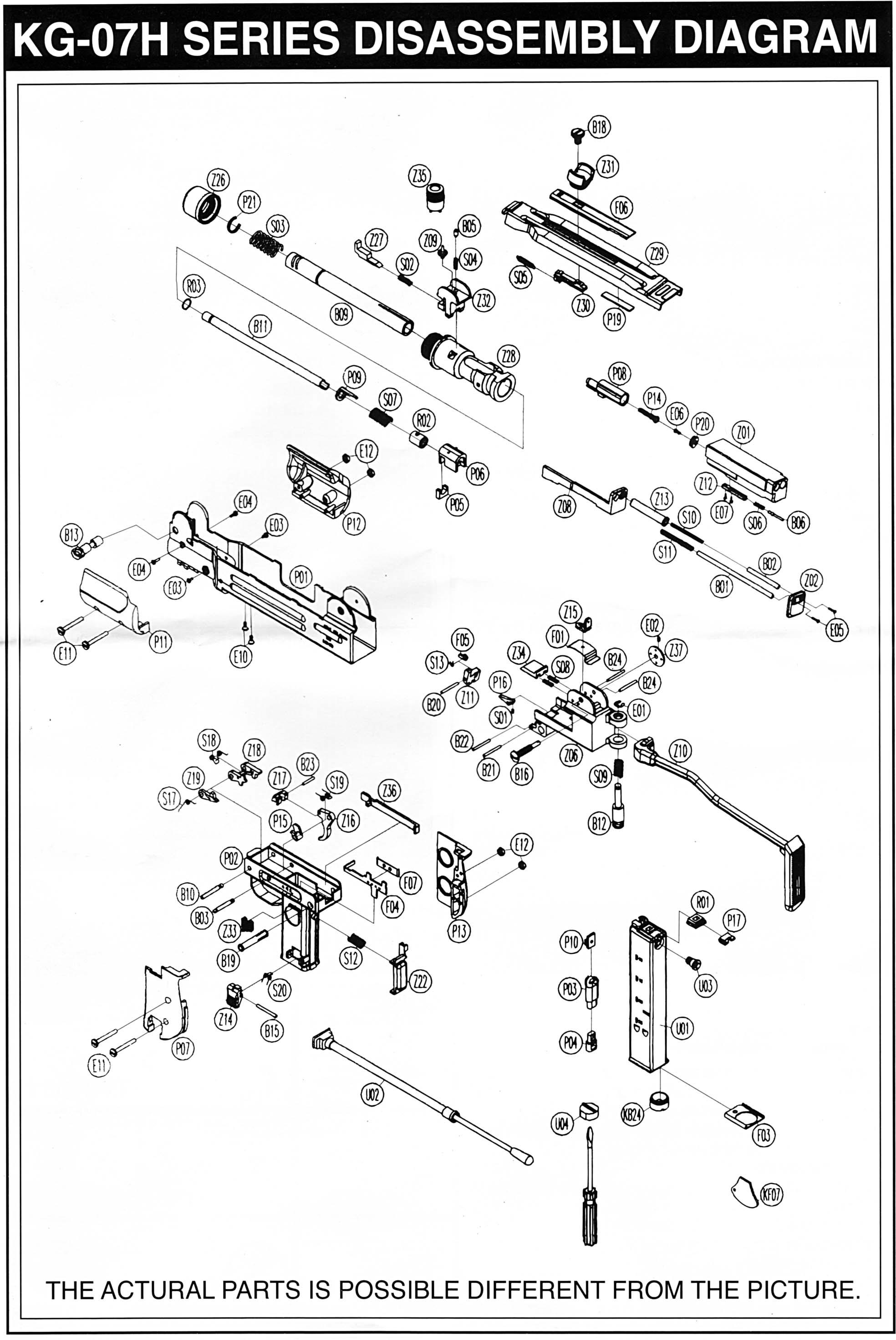 empire mini parts diagram