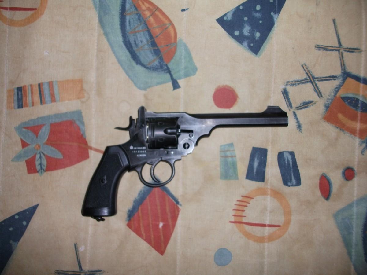 Webley MK VI Co² Revolver