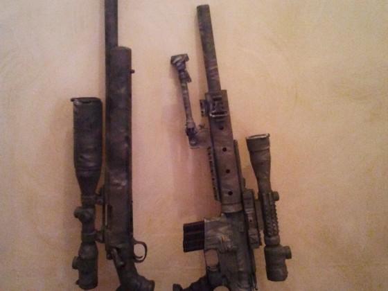 Entstehungsgeschichte meiner M4 SPR in Bildern