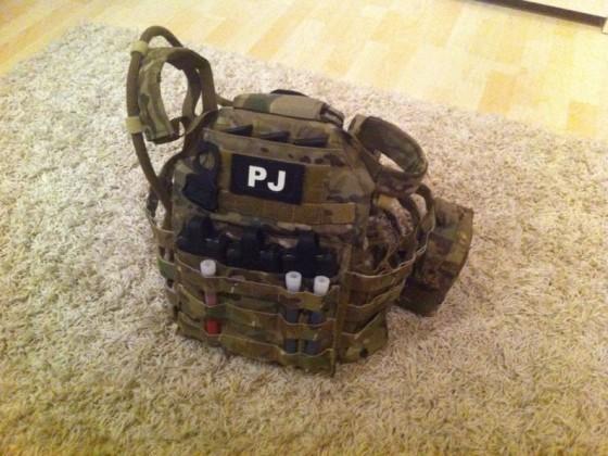 """PJ Gear """"Crye Jumpable Plate Carrier"""""""
