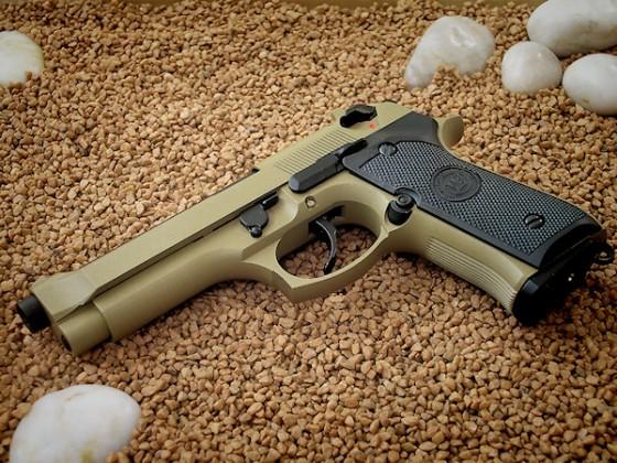 WE M9 Desert Combat