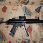 VFC MP5SD3 GBB mit einem RED DRAGON RD-26DC Tactical Reddot