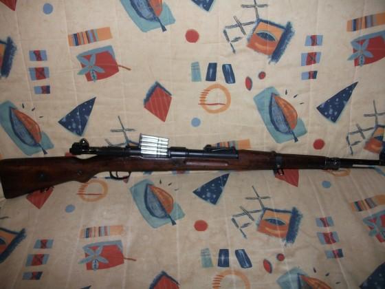 D-Boys K98 Gas Karabiner mit VZ24 Schaft