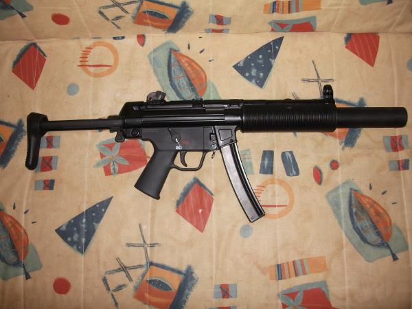 VFC MP5SD3 GBB
