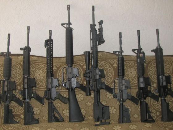 WE M4 /M16 Familie