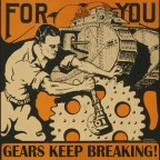 Gears keep breaking!