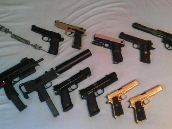 SMG & Handgun Collection