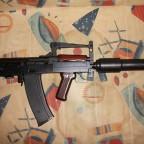 """Hephaestus HTS-14 """"Groza"""" GBB mit Schalldämpfer"""
